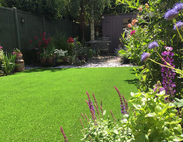 Artificial lawn East Molesey